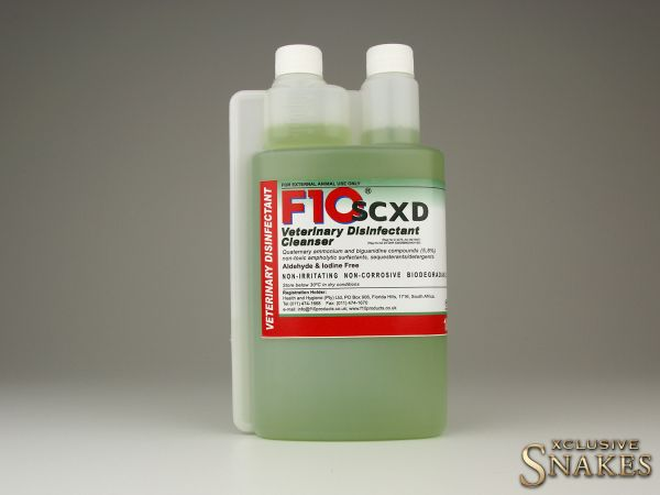 F10 SCXD Veterinary Disinfectant Cleanser 1000ml